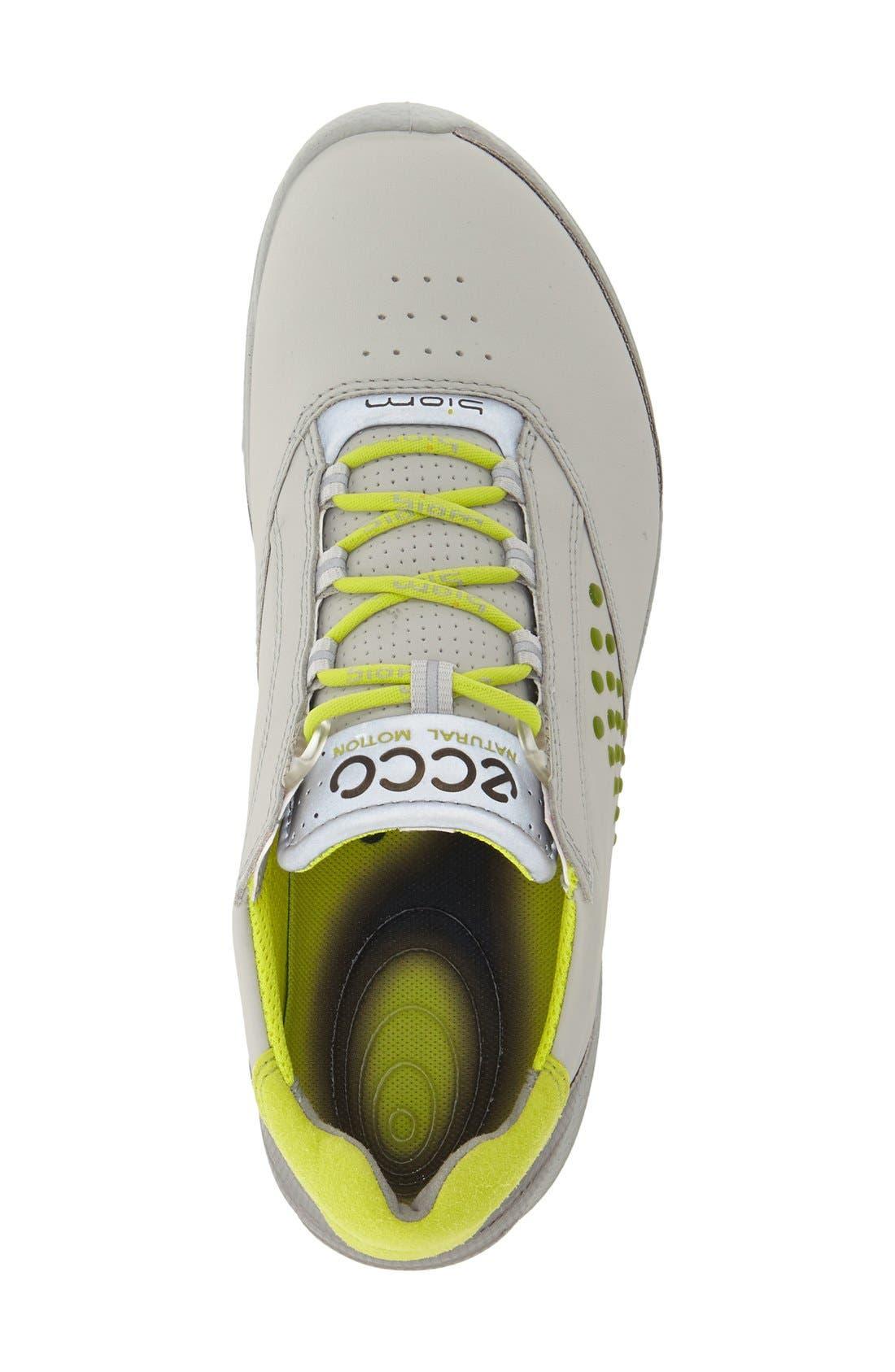 'BIOM' Hydromax<sup>®</sup> Waterproof Golf Shoe,                             Alternate thumbnail 3, color,                             Concrete Leather