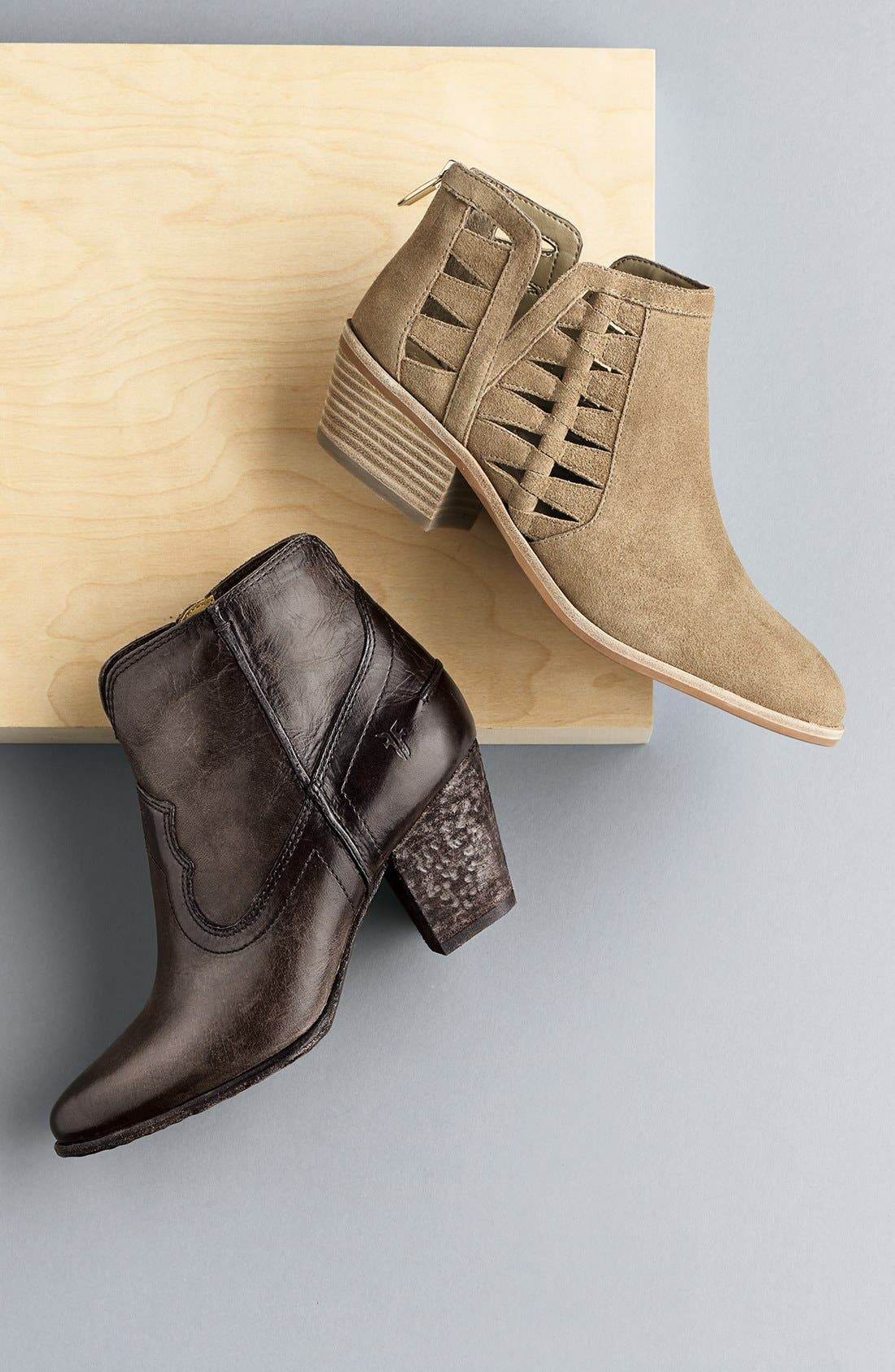'Peera' Cutout Bootie,                             Alternate thumbnail 5, color,