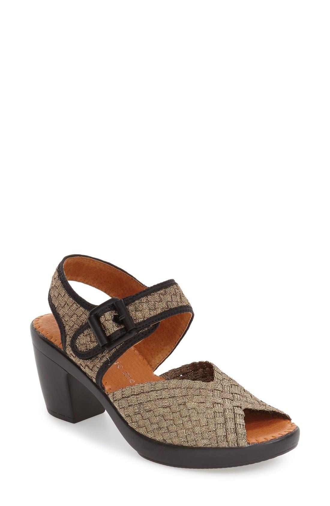 BERNIE MEV. Drisco Platform Sandal