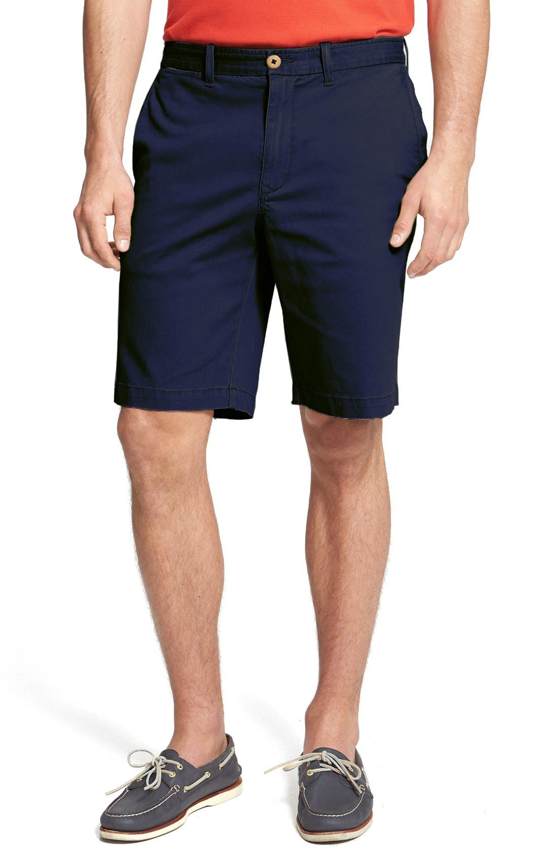 Main Image - Tommy Bahama 'Bedford & Son' Corduroy Walking Shorts (Big & Tall)