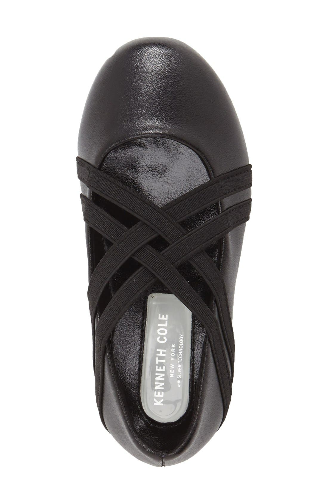Alternate Image 3  - Kenneth Cole New York 'Rose Bay' Round Toe Flat (Walker, Toddler, Little Kid & Big Kid)