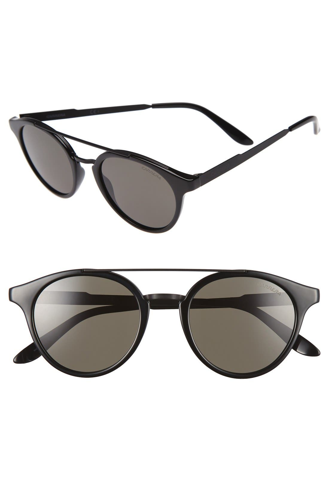 CARRERA EYEWEAR 49mm Retro Sunglasses