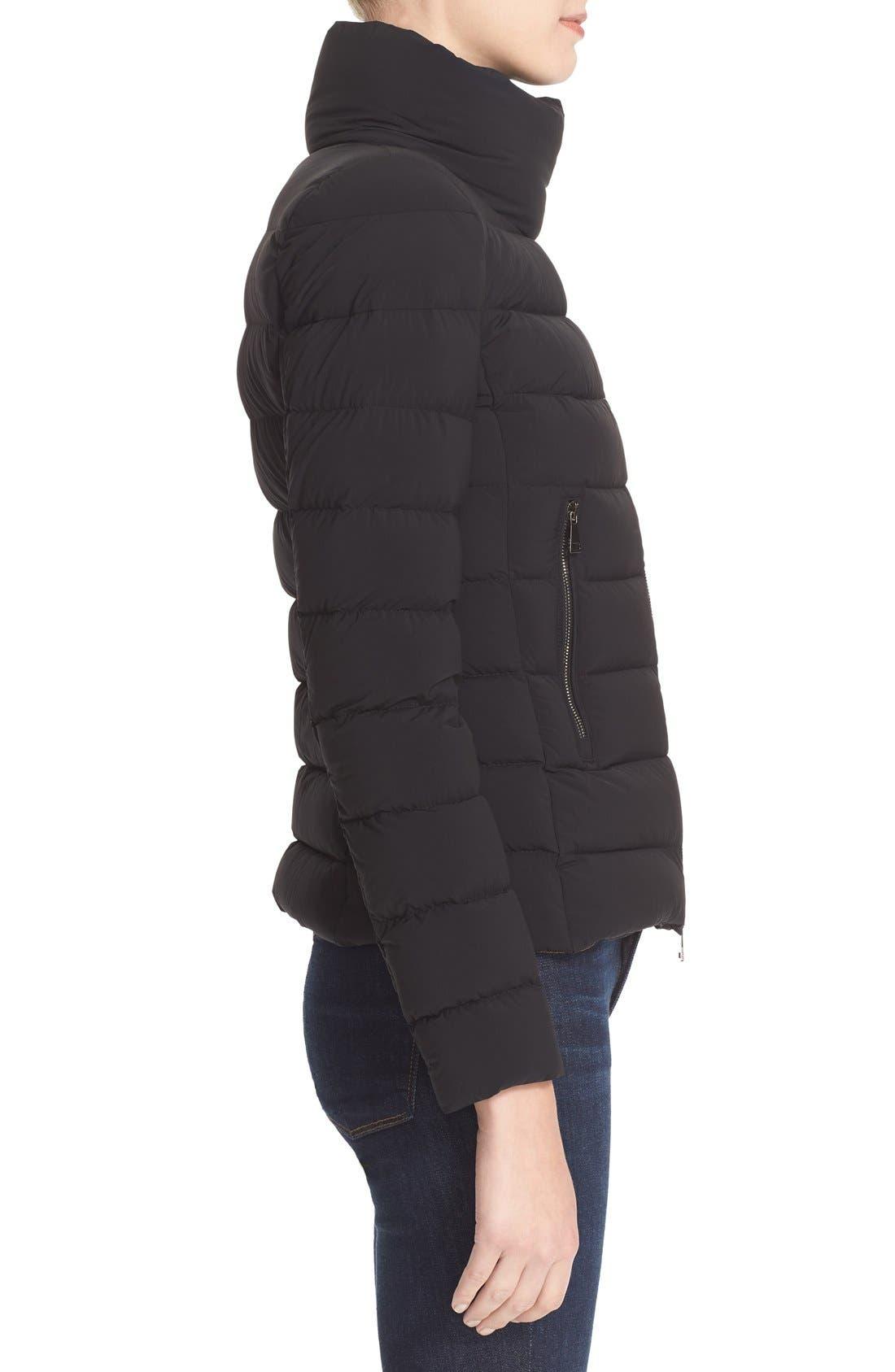 Alternate Image 5  - Moncler 'Antigone' Water Resistant Down Moto Jacket