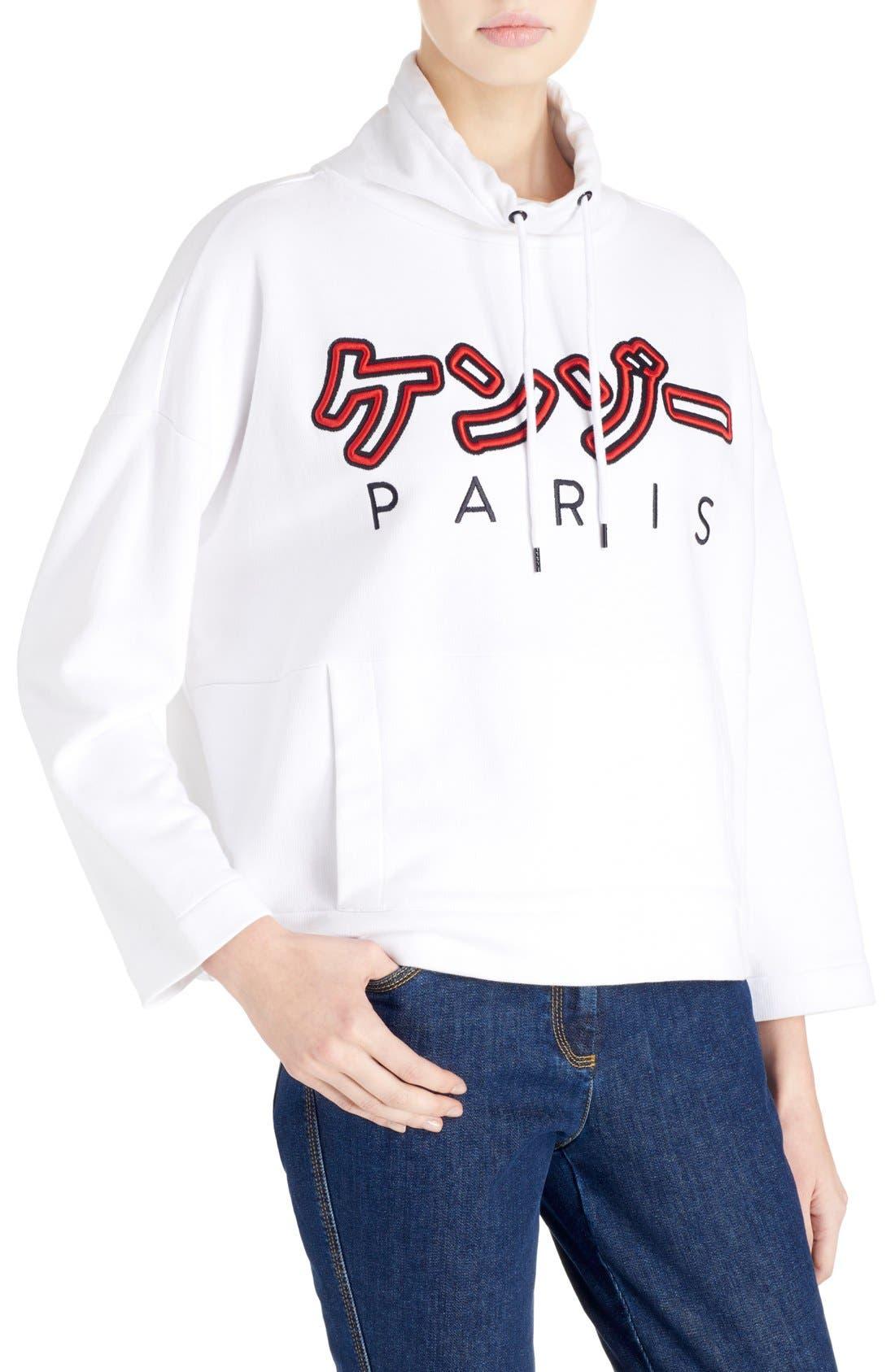 Alternate Image 4  - KENZO Brushed Cotton Molleton Sweatshirt