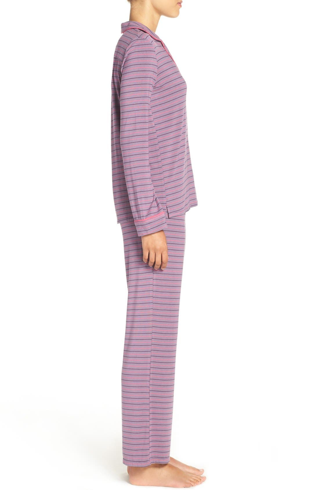 Alternate Image 3  - PJ Salvage Stretch Modal Pajamas