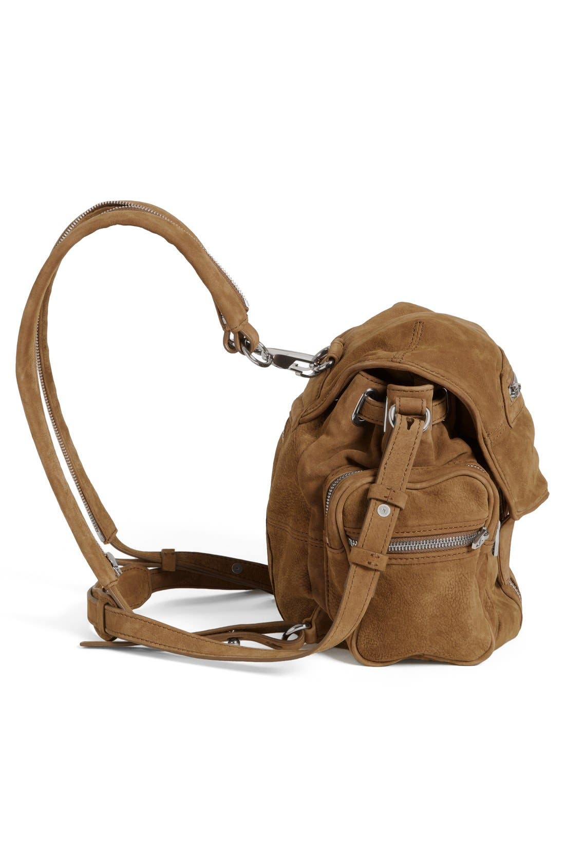 Alternate Image 5  - Alexander Wang 'Mini Marti' Nubuck Leather Backpack