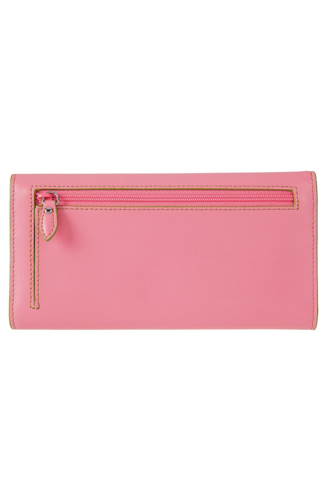 Alternate Image 3  - Lodis 'Audrey' Checkbook Clutch Wallet