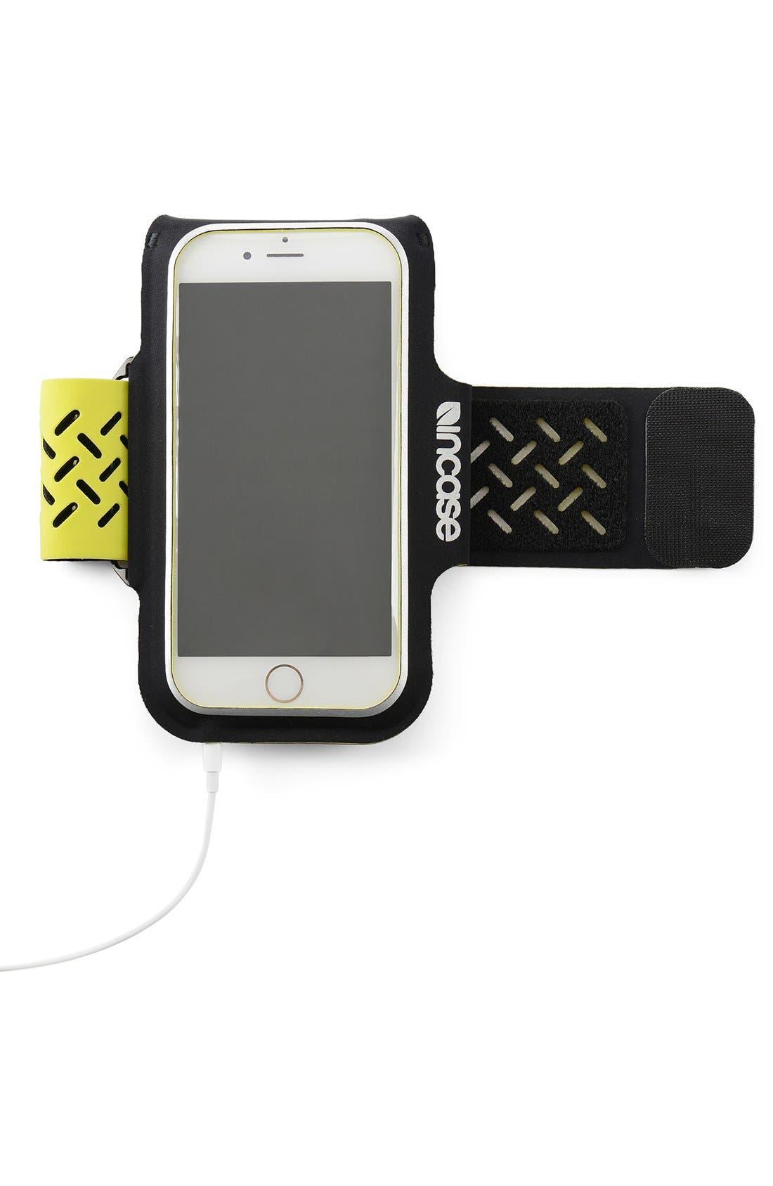 iPhone 6/6s Armband,                             Alternate thumbnail 4, color,                             Black/ Lumen