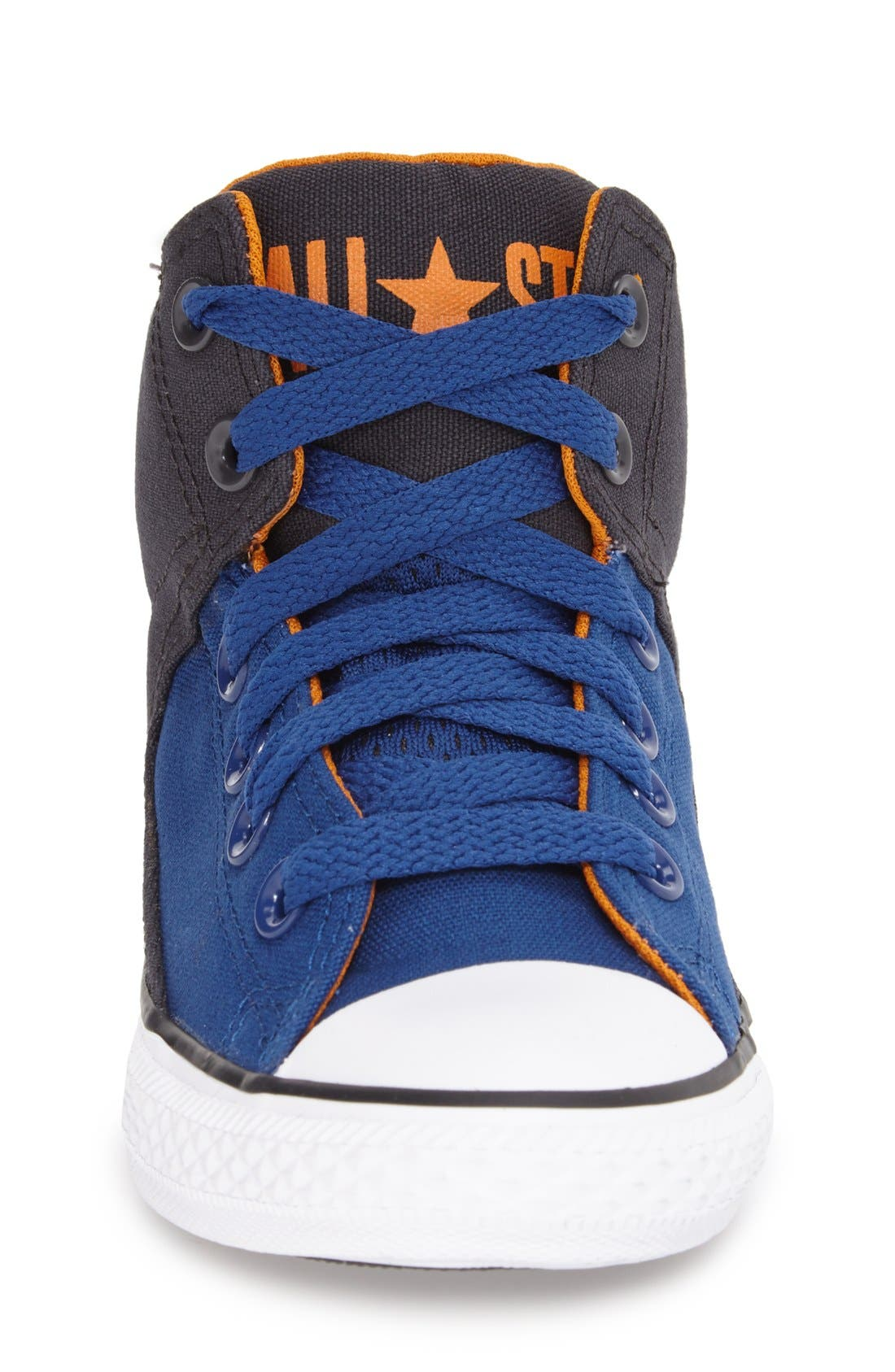 Chuck Taylor<sup>®</sup> All Star<sup>®</sup> 'High Street' Mid Rise Sneaker,                             Alternate thumbnail 3, color,                             Blue