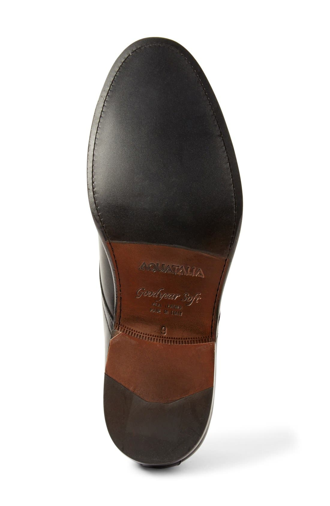 Alternate Image 4  - Aquatalia 'Vance' Plain Toe Derby (Men)