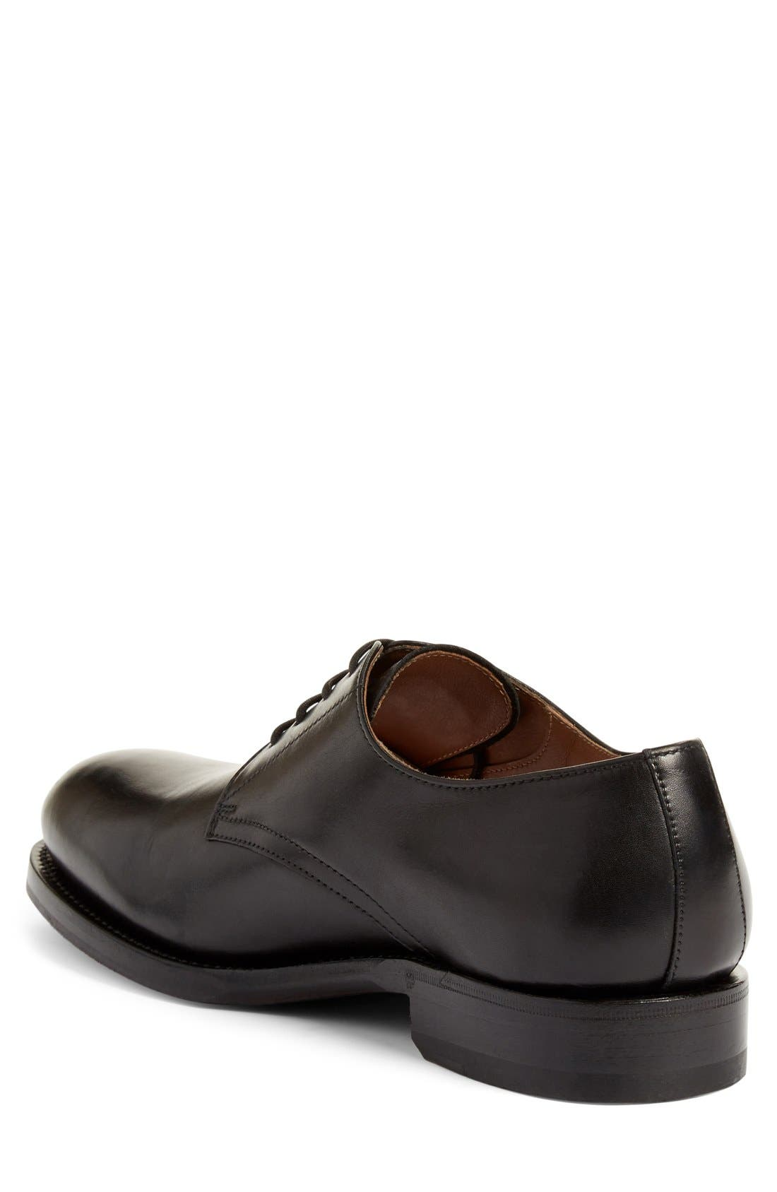 Alternate Image 2  - Aquatalia 'Vance' Plain Toe Derby (Men)