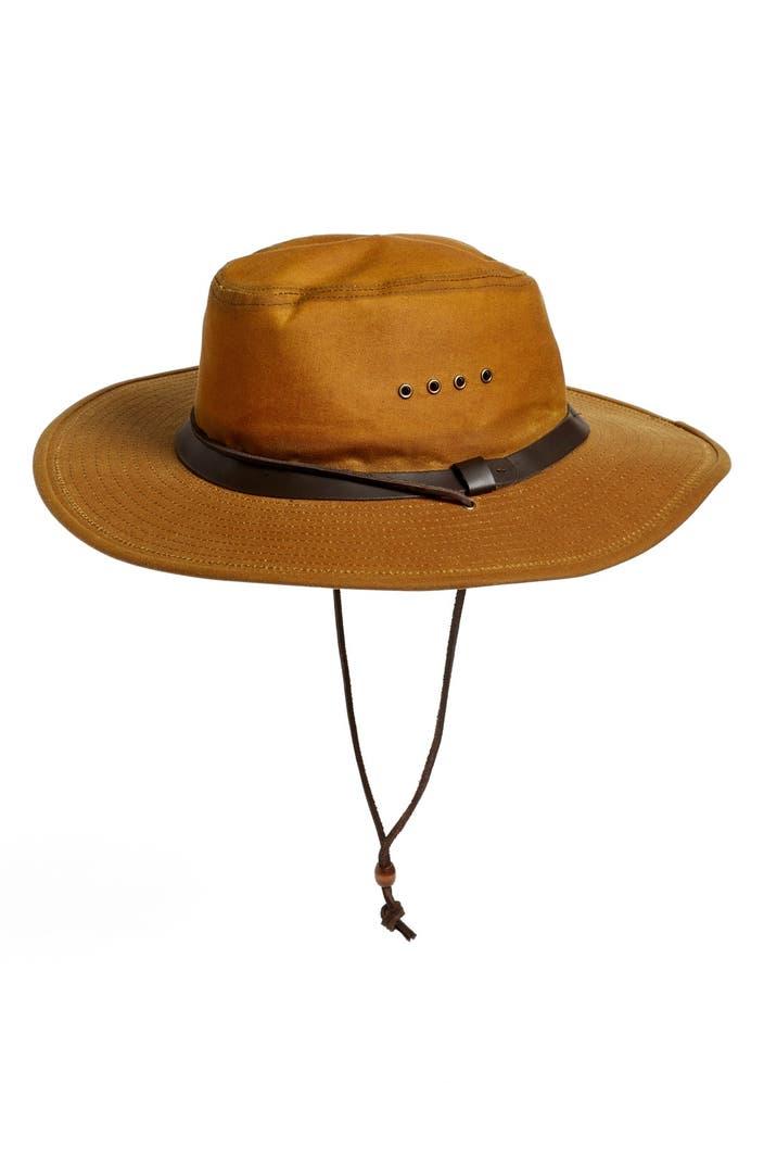 Filson Tin Cloth Bush Hat Nordstrom