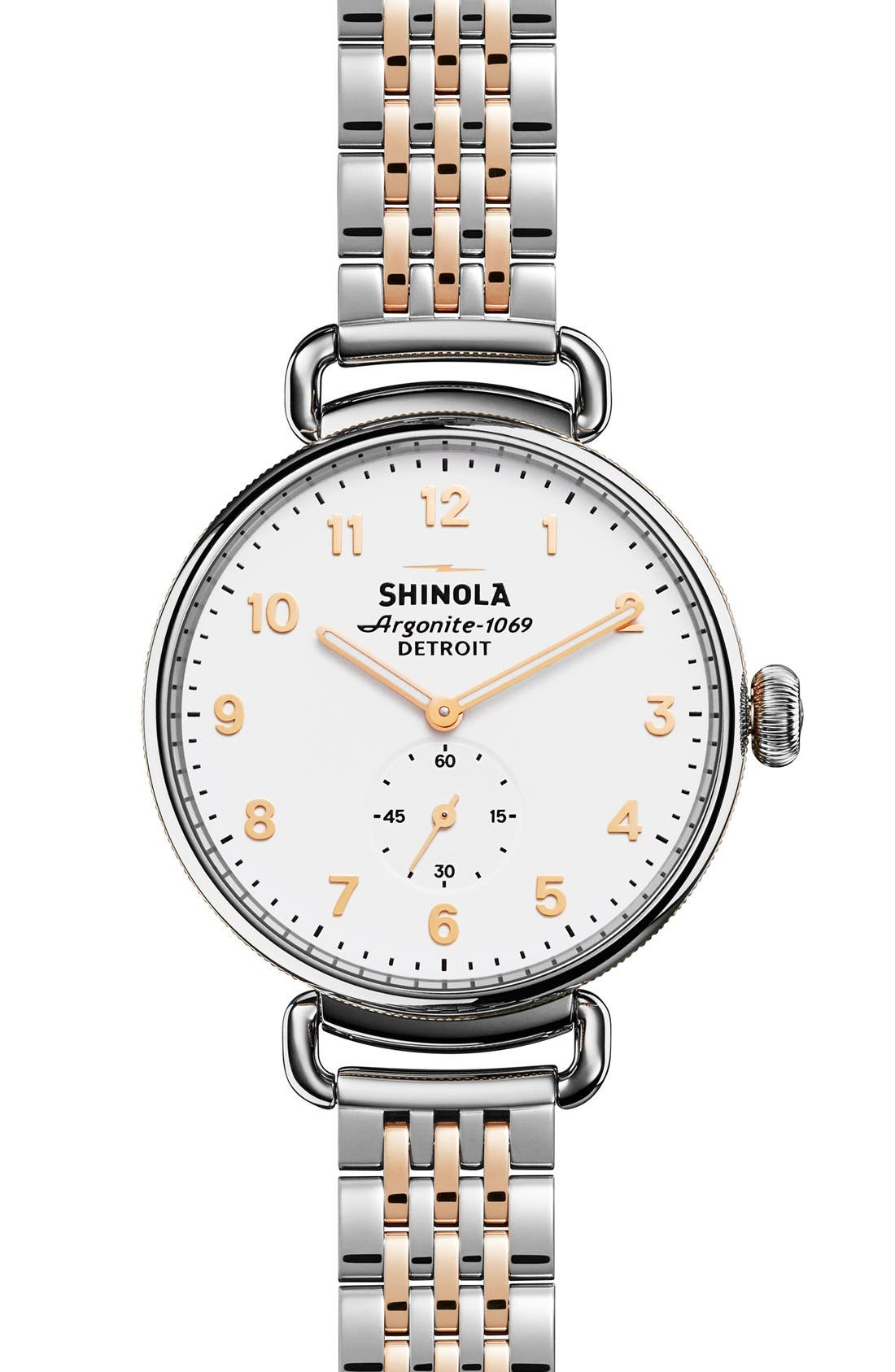 SHINOLA The Canfield Bracelet Watch, 38mm