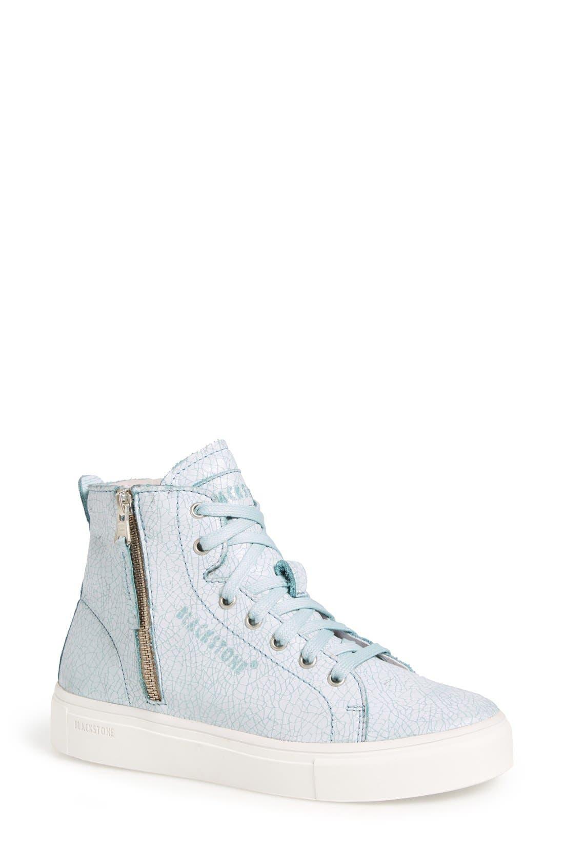 Blackstone 'LL78' Crackled High Top Platform Sneaker (Women)