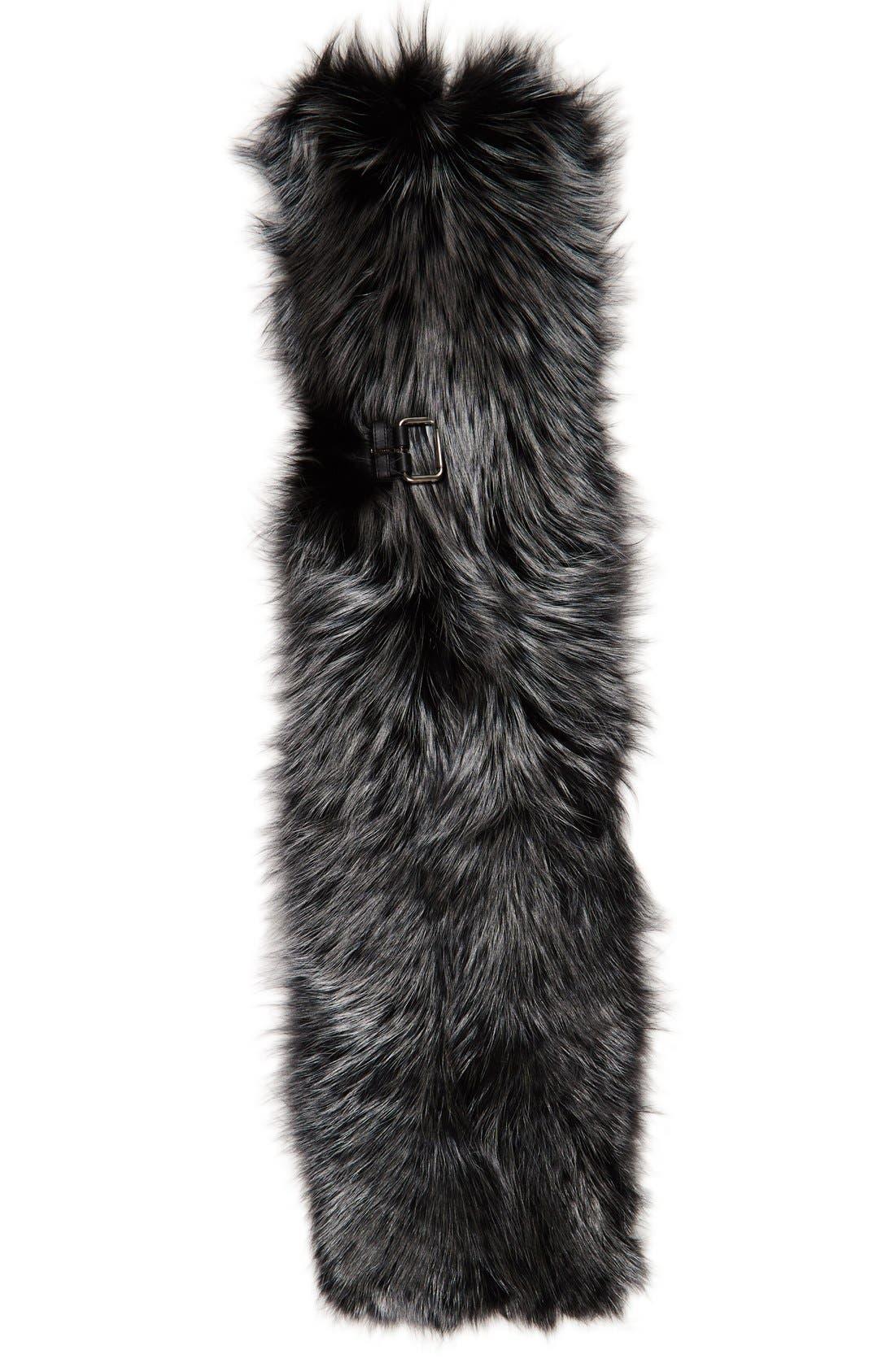 Main Image - Fendi Genuine Fox Fur Wrap
