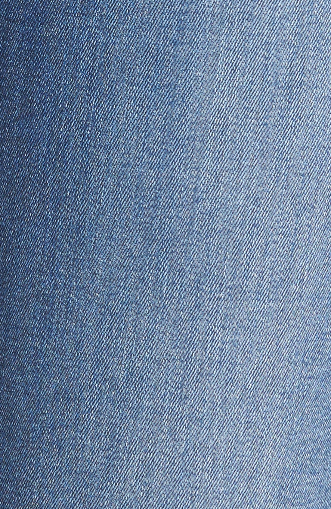 'b(air) - A Pocket' Flare Jeans,                             Alternate thumbnail 5, color,                             Reign