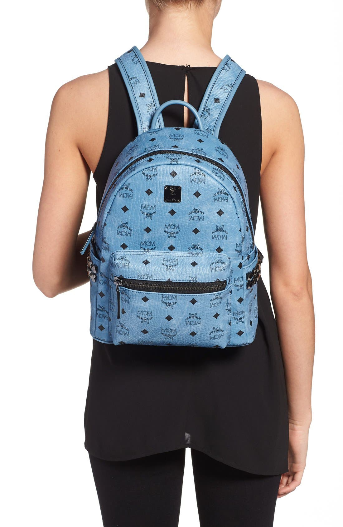 Alternate Image 2  - MCM 'Small Stark' Side Stud Backpack