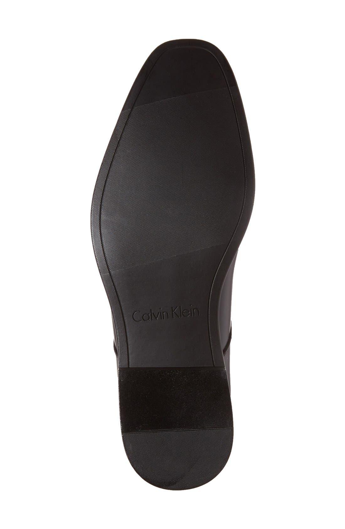 'Dorrel' Plain Toe Derby,                             Alternate thumbnail 4, color,                             Black
