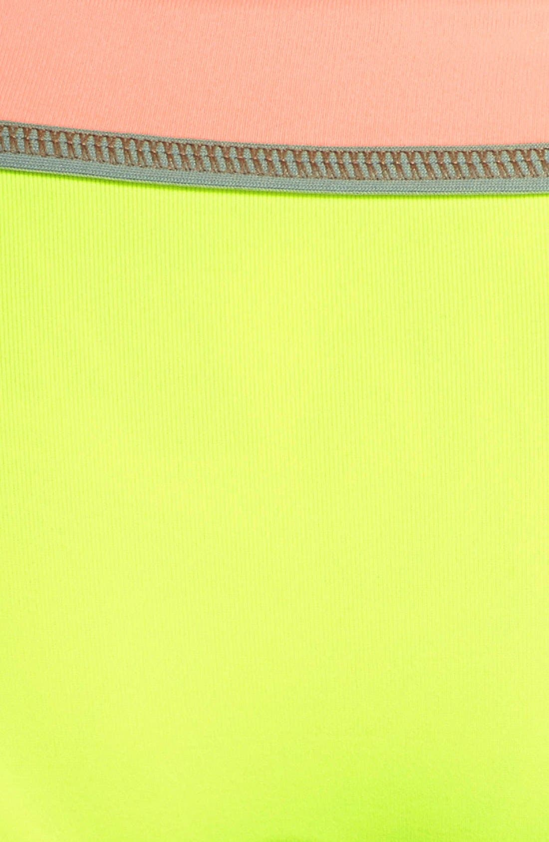Alternate Image 6  - Maaji 'Lime Cubism' Reversible Bikini Bottoms