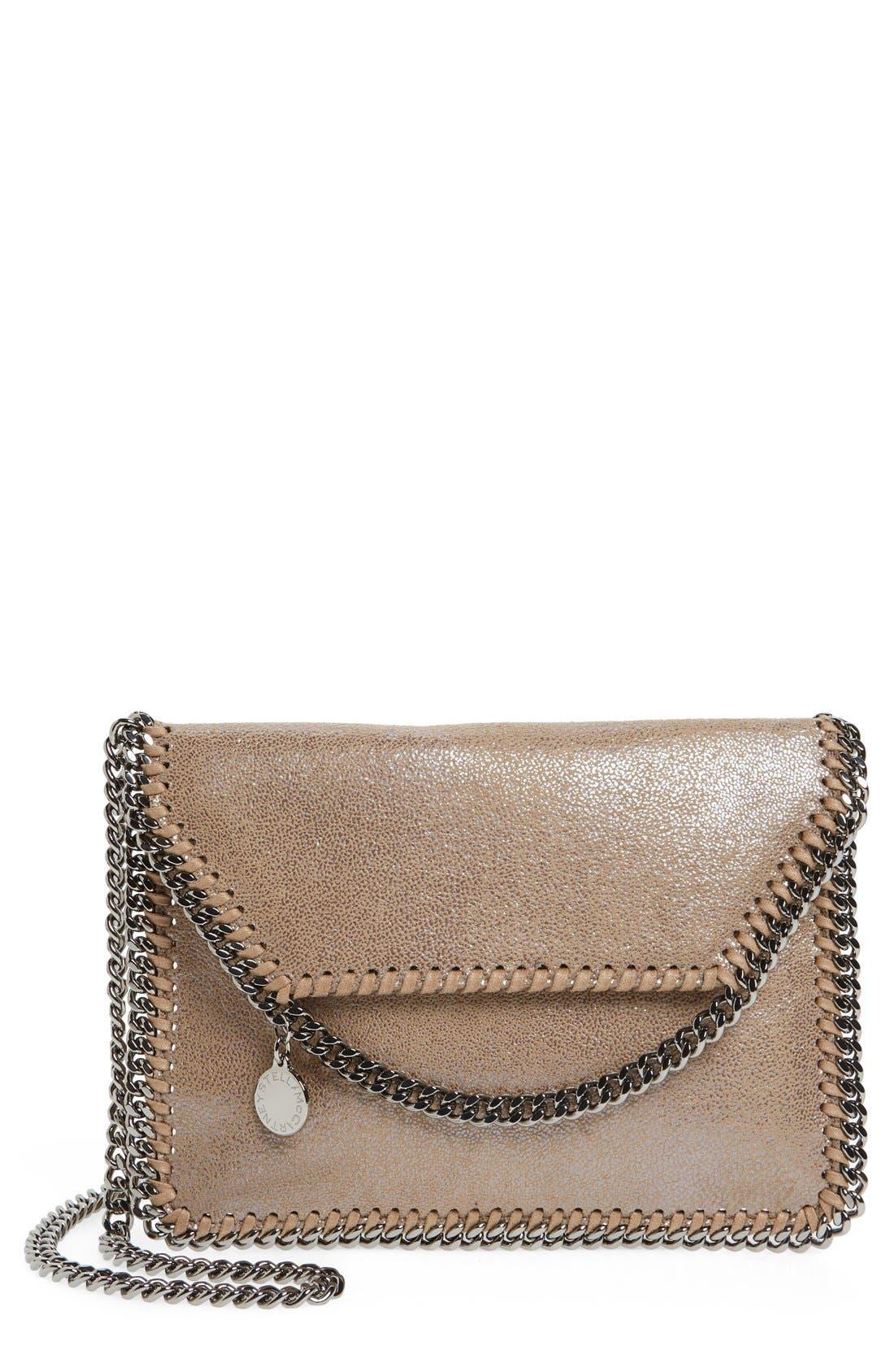 STELLA MCCARTNEY Mini Falabella Faux Leather Crossbody Bag