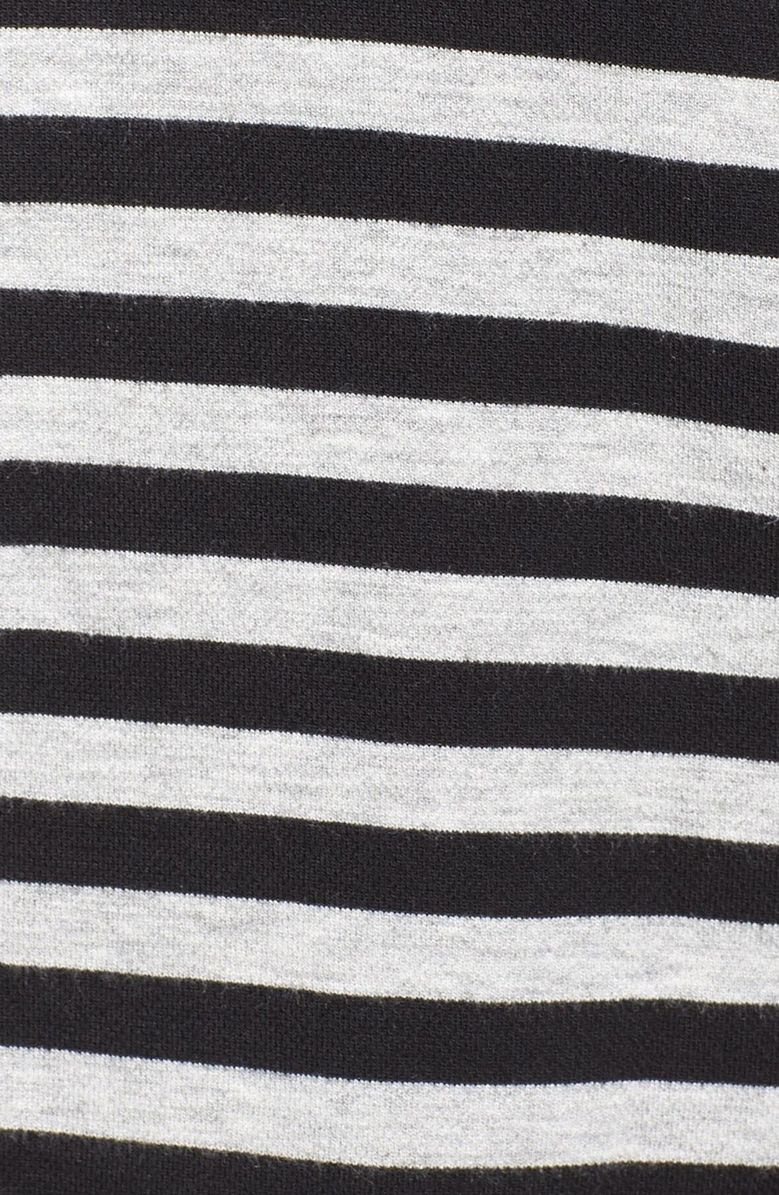 Alternate Image 5  - Tart 'Veronicka' Stripe Knit Open Front Jacket (Plus Size)