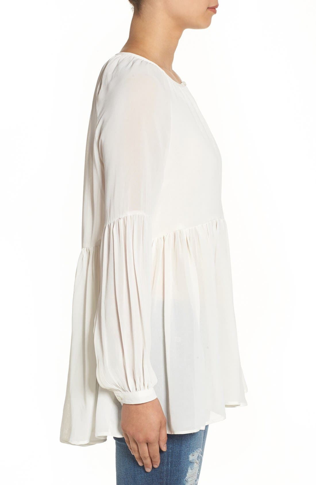 Alternate Image 3  - Sincerely Jules 'Cameron' Chiffon Blouse