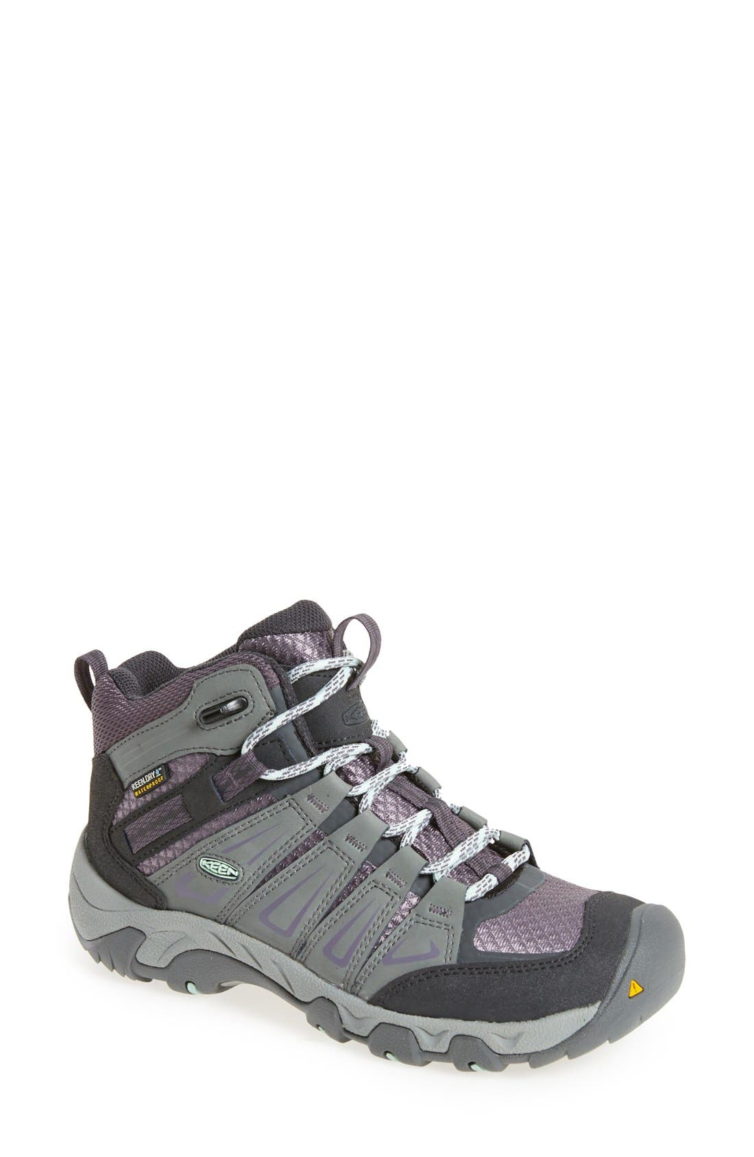 Alternate Image 1 Selected - Keen 'Oakridge' Waterproof Hiking Boot (Women)