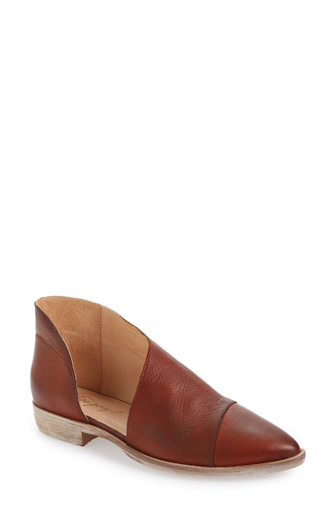 Main Image - Free People 'Royale' Pointy Toe Flat (Women)