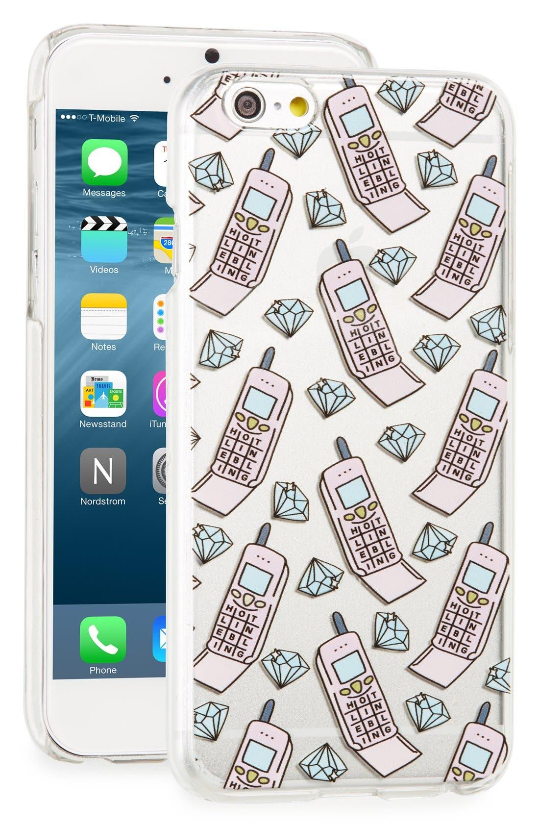 Alternate Image 1 Selected - Skinnydip Hotline iPhone 6/6s Case
