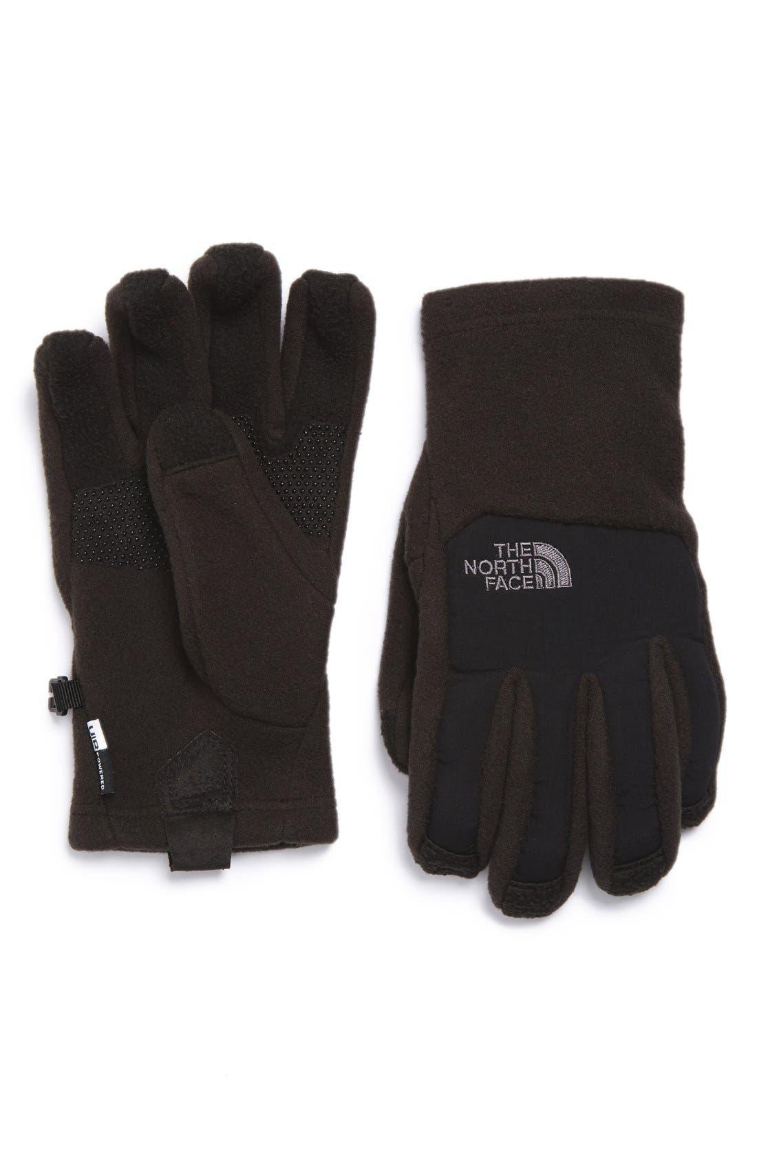 The North Face Denali E-Tip Fleece Tech Gloves (Boys)