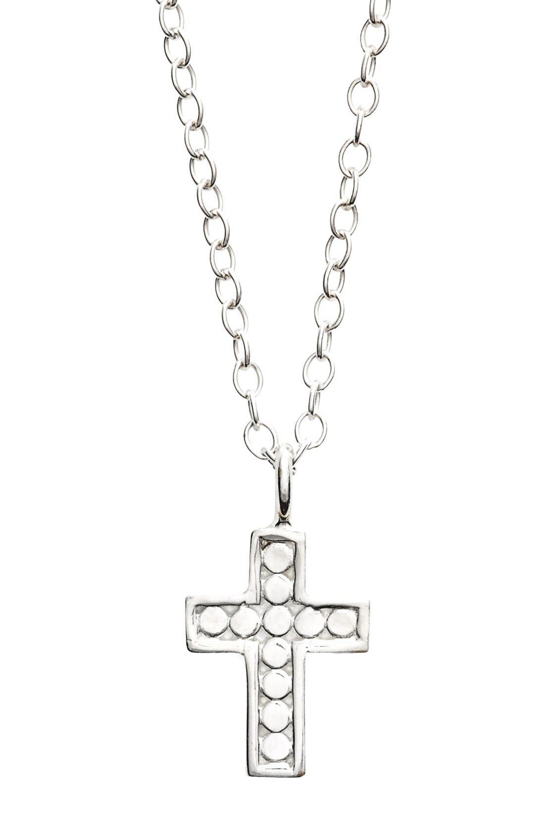 Alternate Image 4  - Anna Beck 'Gili' Reversible Mini Cross Necklace
