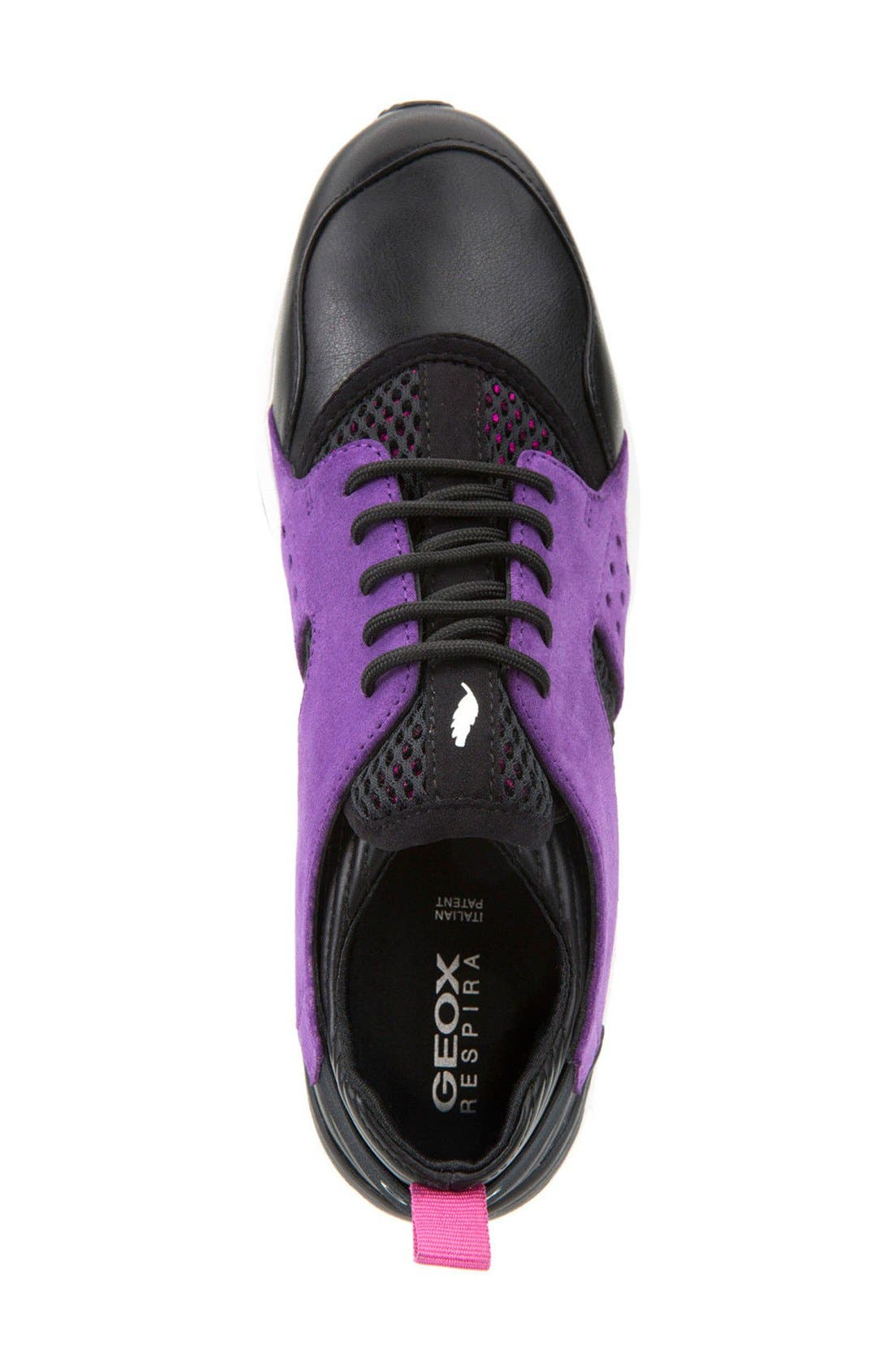 Alternate Image 3  - Geox 'Omaya' Sneaker (Women)