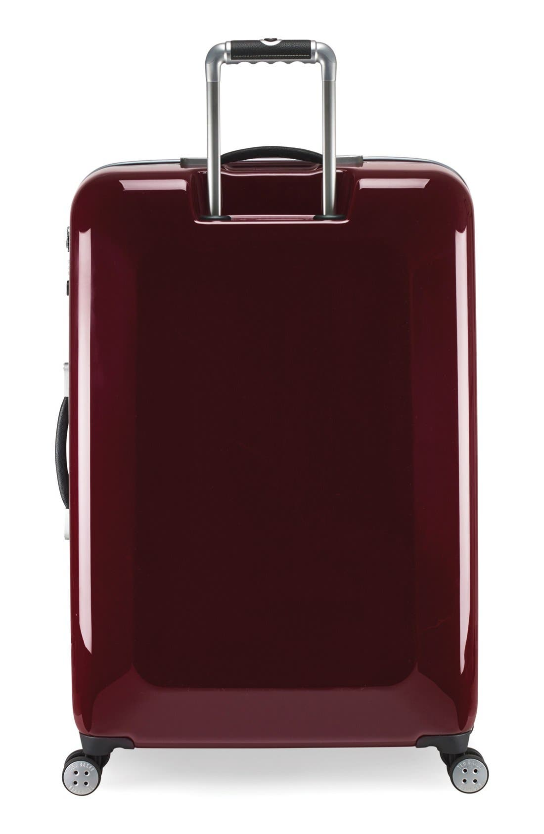 Alternate Image 2  - Ted Baker London 'Large Burgundy' Four Wheel Suitcase (31 Inch)