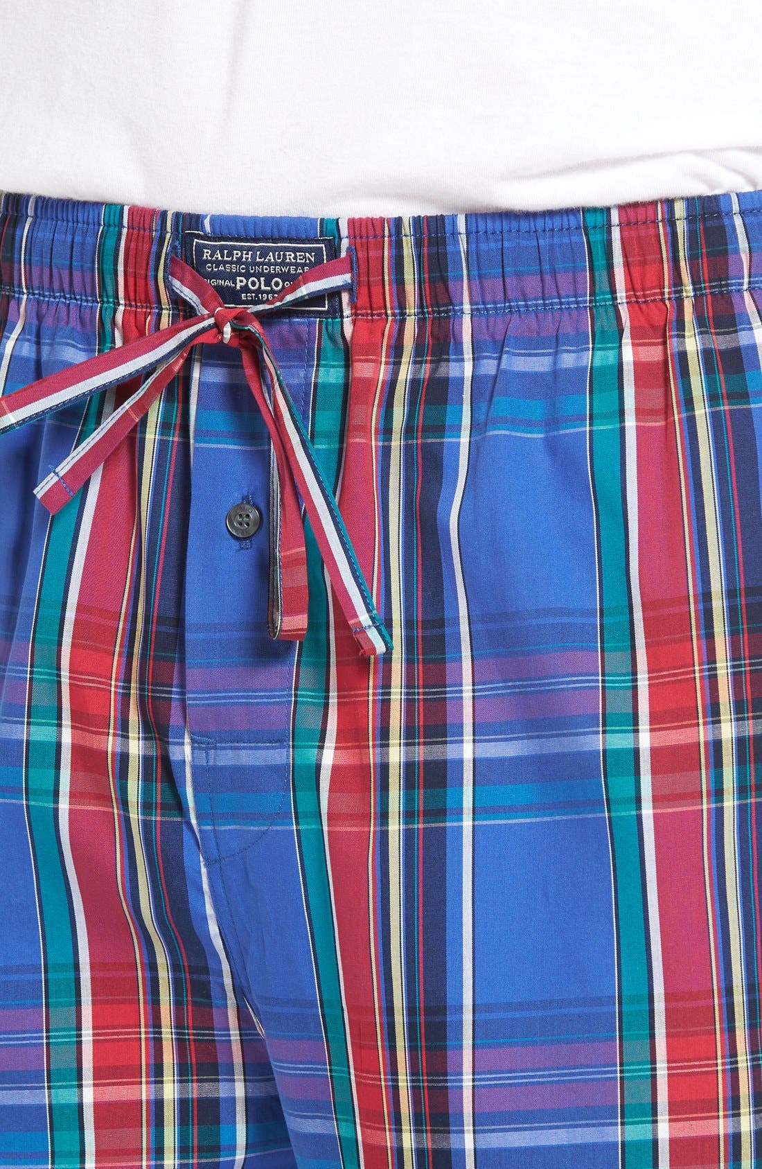 Alternate Image 4  - Polo Ralph Lauren Cotton Lounge Pants