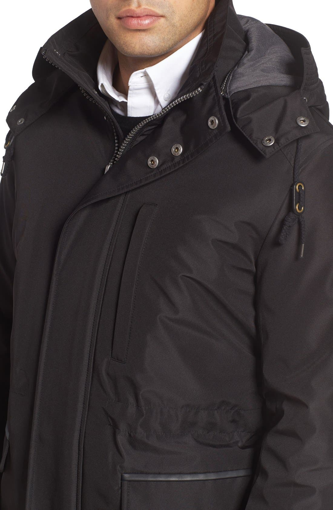 Alternate Image 4  - Cole Haan Insulated Water Resistant Car Coat