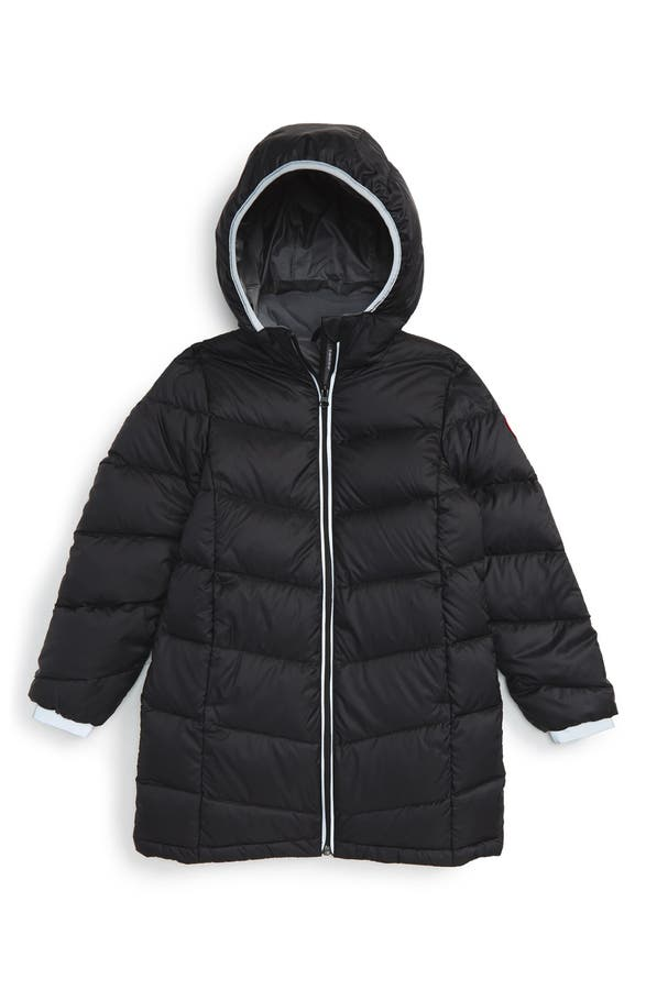 Canada Goose 'Madeline' Hooded Down Jacket (Little Girls & Big ...