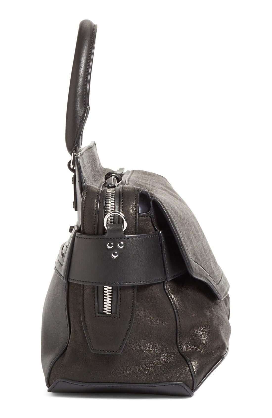 Alternate Image 4  - rag & bone 'Pilot' Lambskin Leather Satchel