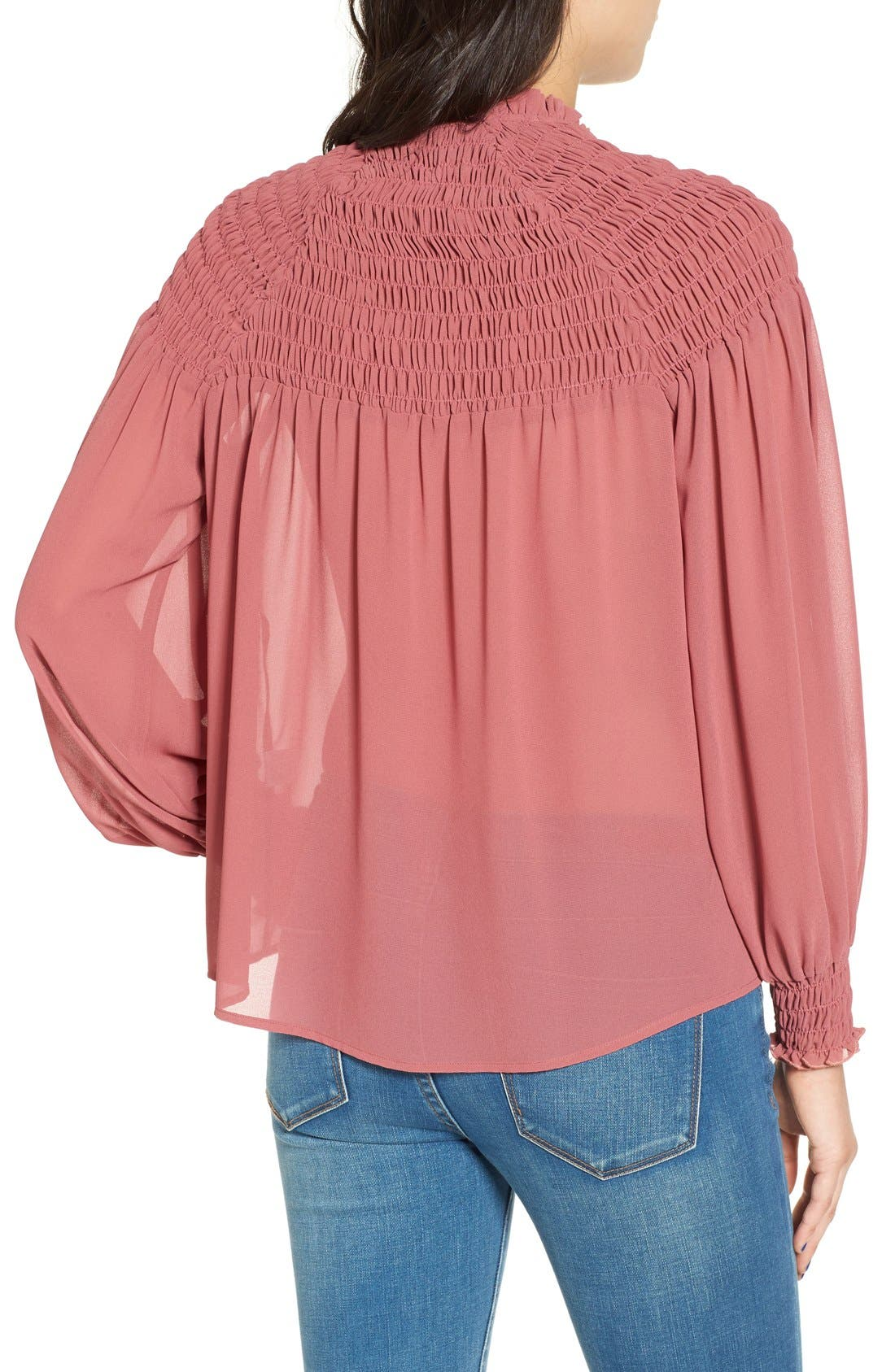 Alternate Image 3  - WAYF 'Russell' Chiffon Blouse