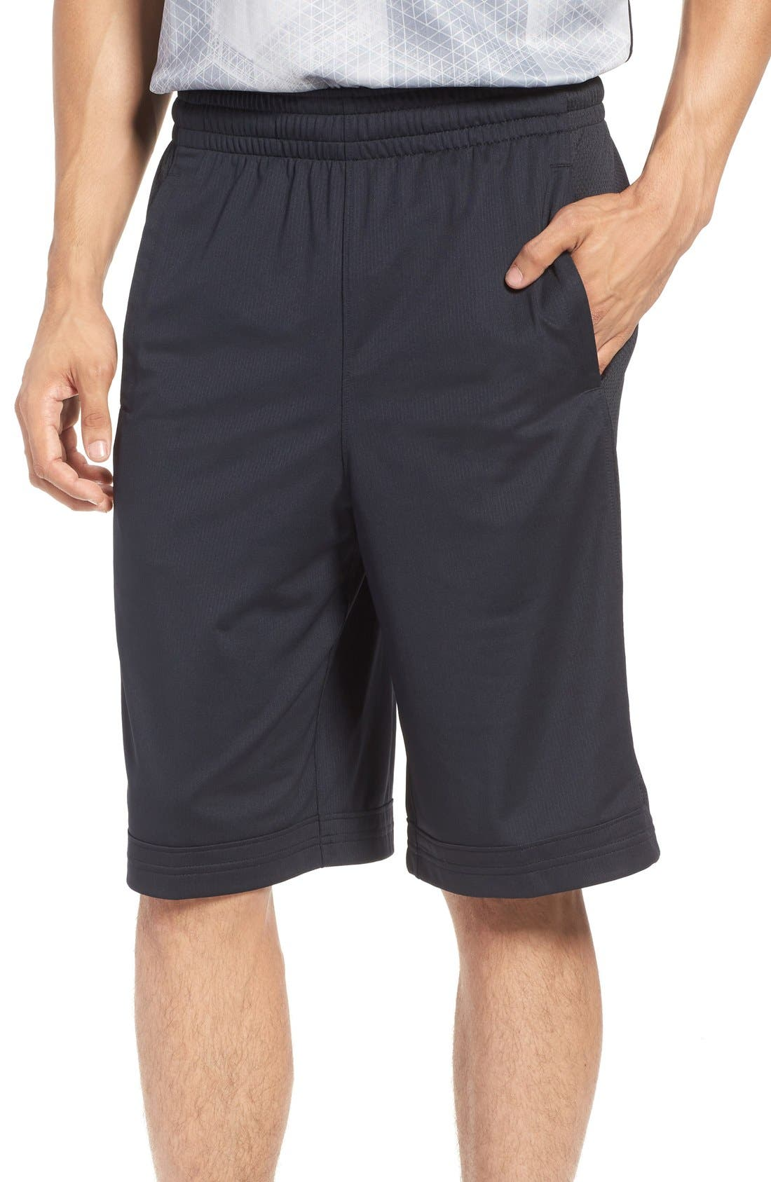 Alternate Image 1 Selected - Under Armour 'Isolation' Athletic Shorts