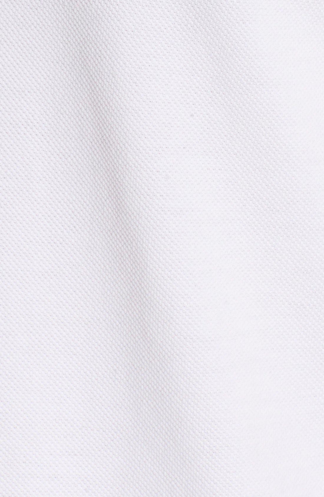 Logo Piqué Polo,                             Alternate thumbnail 5, color,                             White