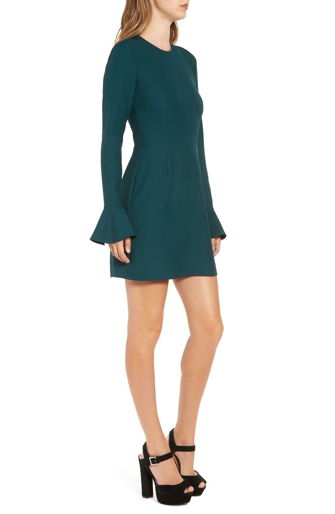 Alternate Image 3  - Leith Bell Sleeve Sheath Dress