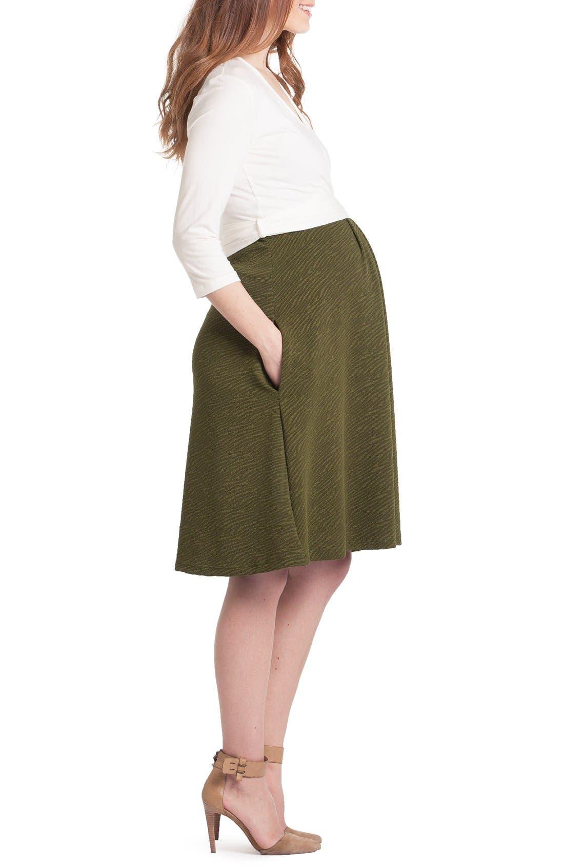 Alternate Image 3  - Lilac Clothing Abby Maternity/Nursing Dress