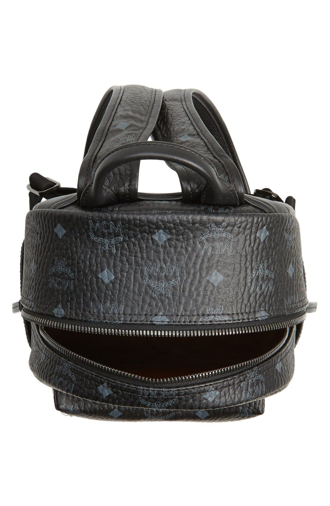 Alternate Image 4  - MCM Small Stark - Visetos Backpack