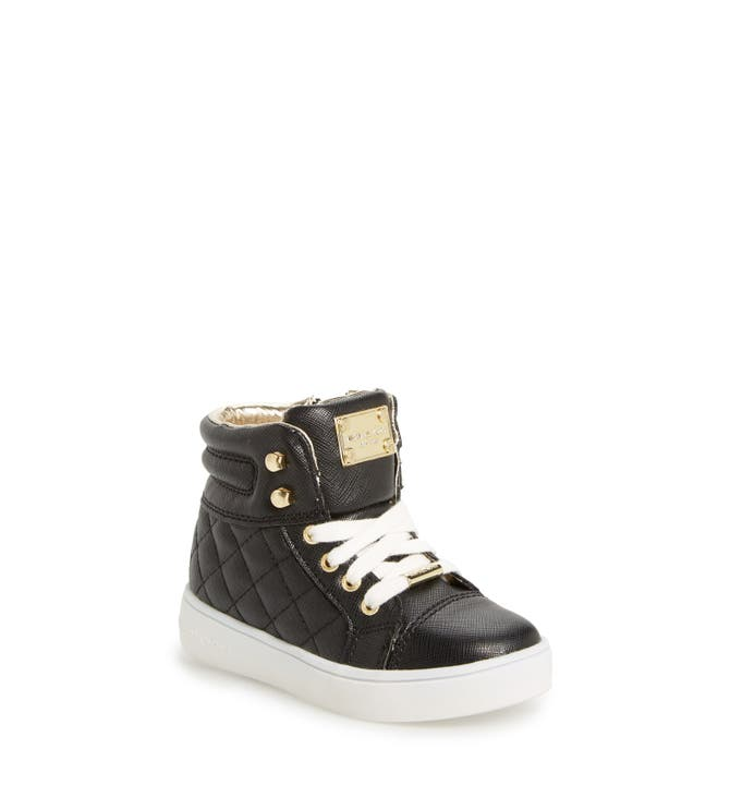 MICHAEL Michael Kors 'Ivy Cora' Quilted High Top Sneaker (Walker ... : michael kors quilted sneakers - Adamdwight.com