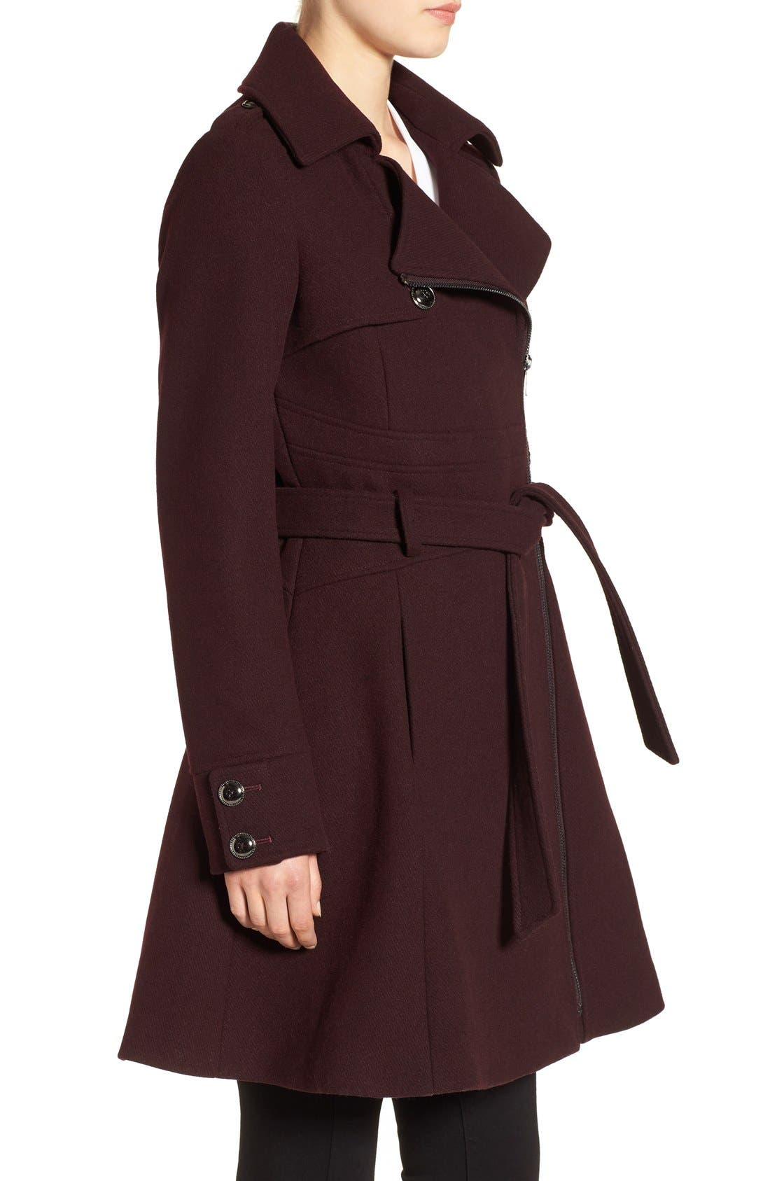 Alternate Image 3  - Catherine Catherine Malandrino Fit & Flare Coat
