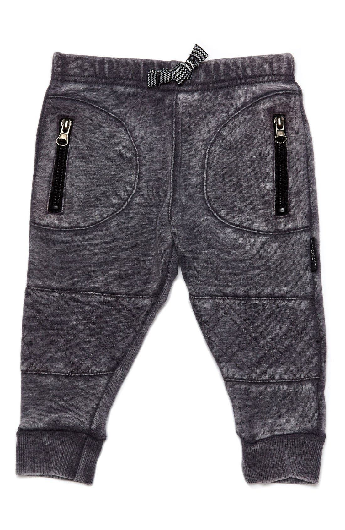Alternate Image 1 Selected - Kardashian Kids Quilted Jogger Pants (Toddler Boys & Little Boys)