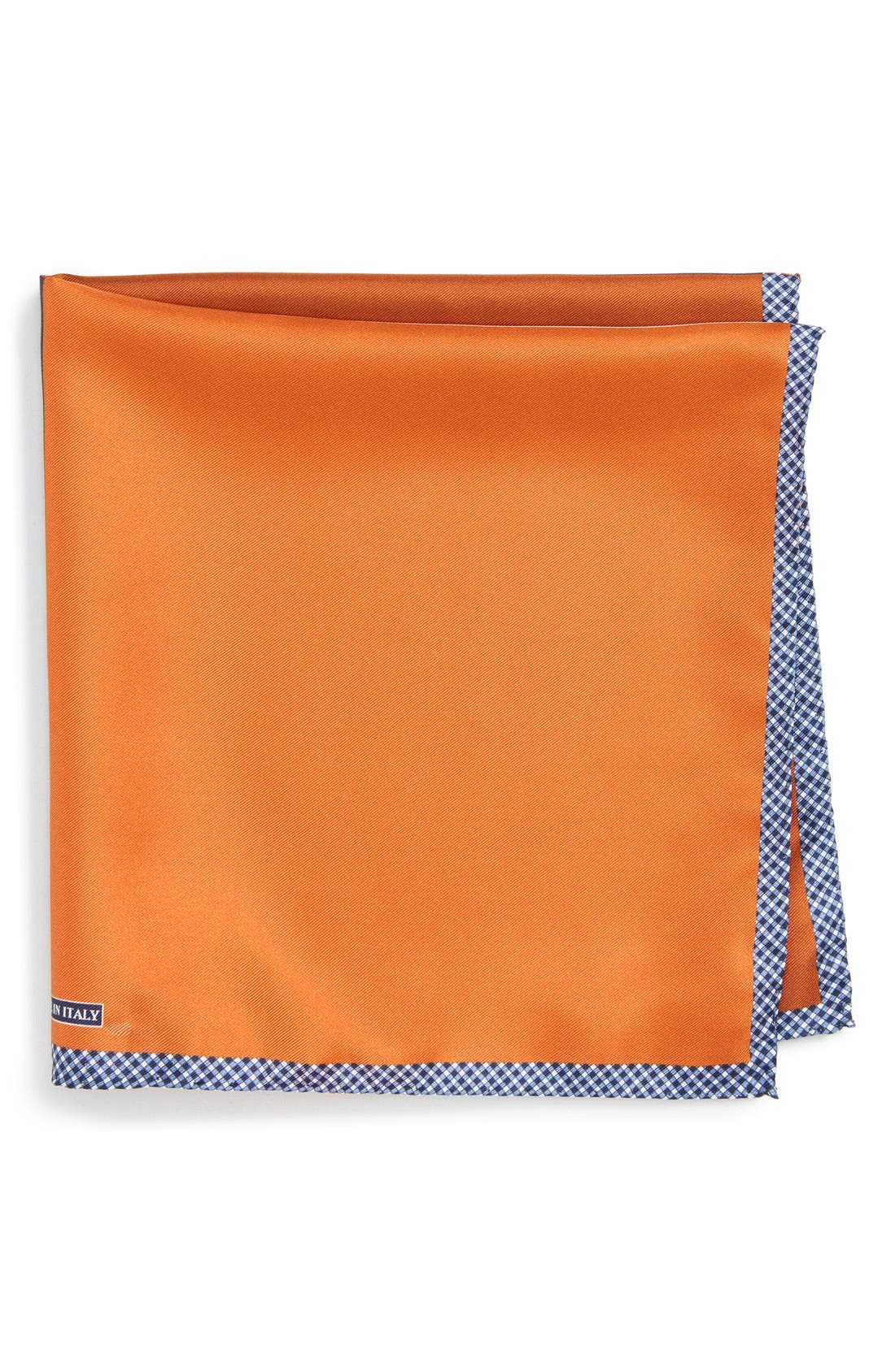 Alternate Image 1 Selected - Nordstrom Men's Shop Panel Silk Pocket Square