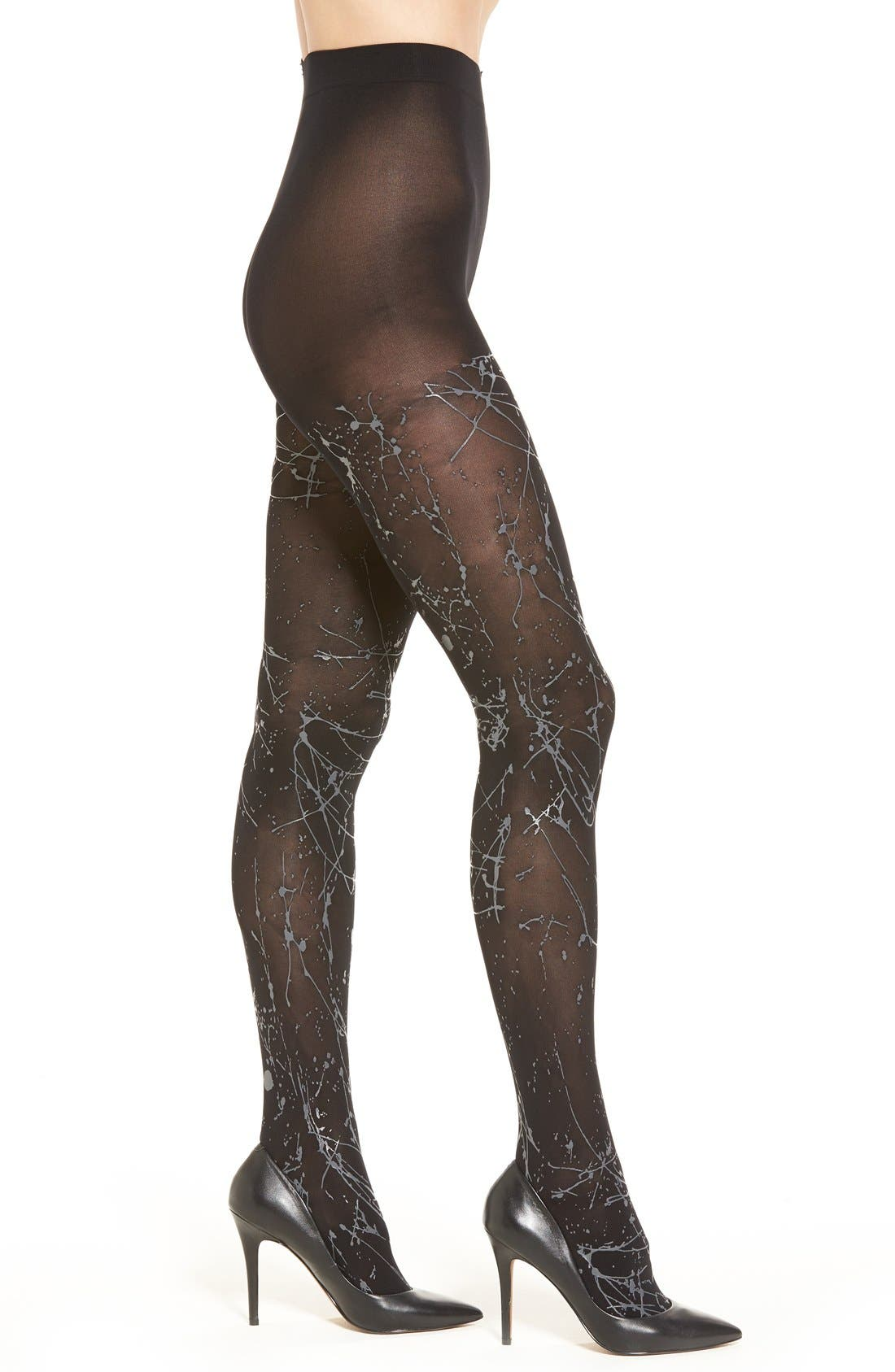 Alternate Image 1 Selected - Pretty Polly Paint Splatter Tights