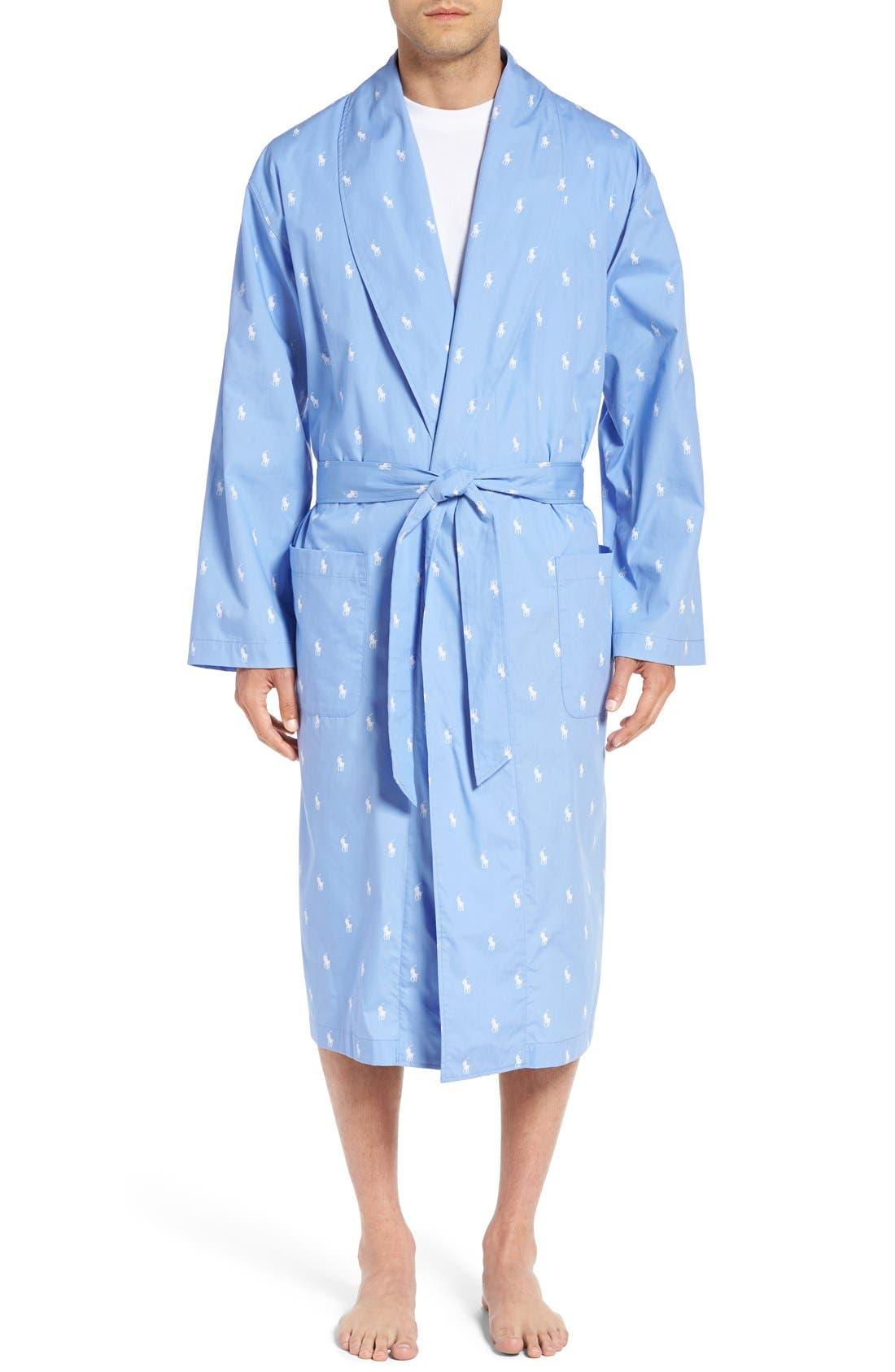 Polo Ralph Lauren 'Polo Player' Cotton Robe