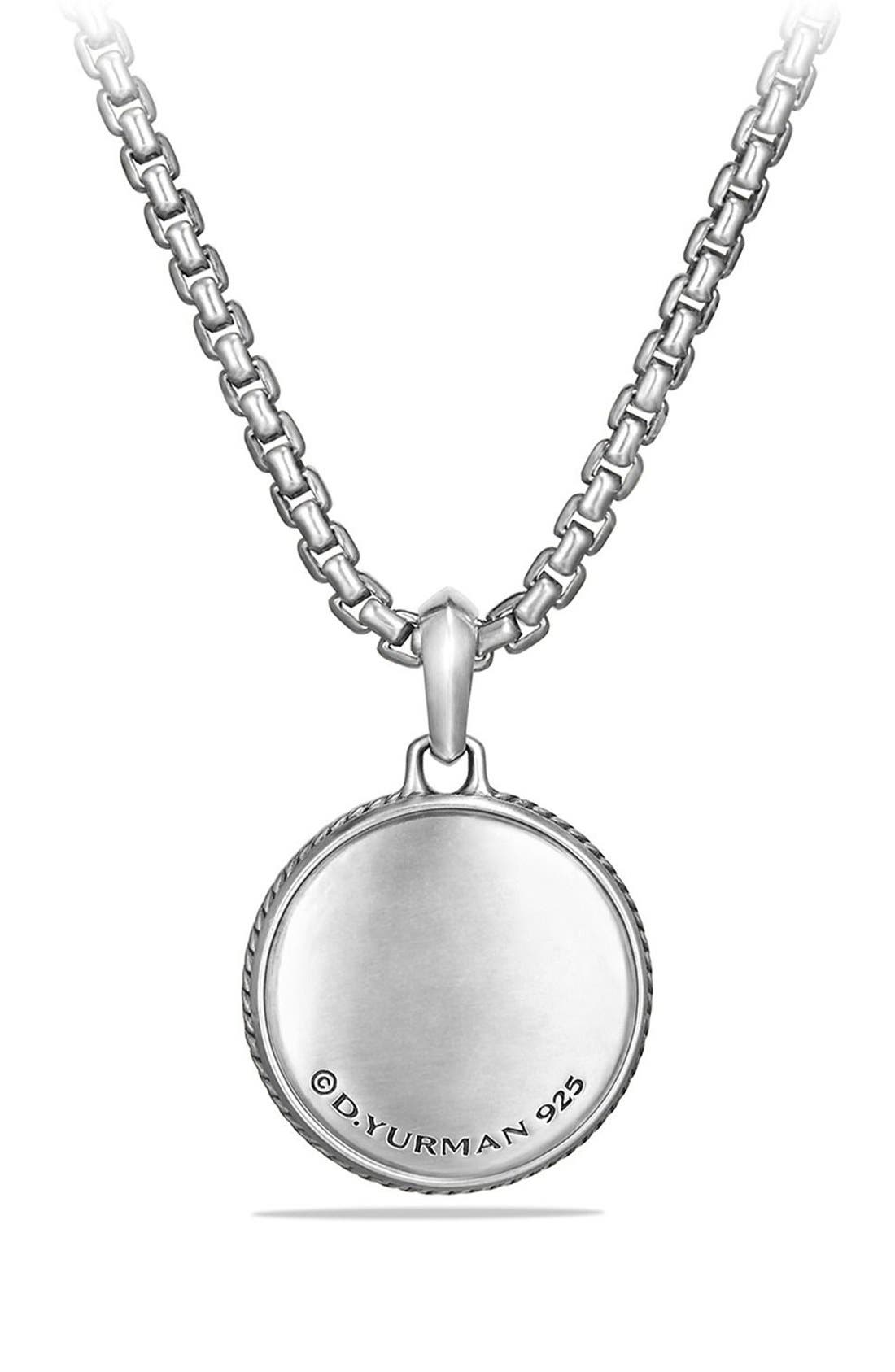 Alternate Image 2  - David Yurman 'Maritime' Compass Amulet with Black Diamond